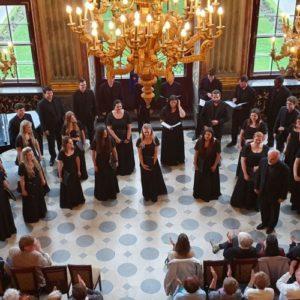 Zielinski Singers zaśpiewali w Zamku Książ (FOTO)