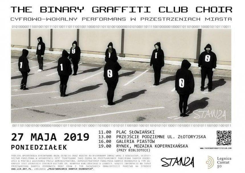 The Binary Graffiti Club – Chór Binarny zaśpiewa w Legnicy