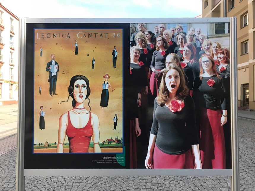 Cantatowa wystawa w legnickim Rynku (FOTO)