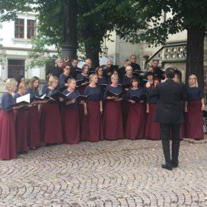 Chór Madrygał śpiewał w Miśni (ZDJĘCIA)