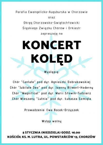 Chóralny Koncert Kolęd w Chorzowie