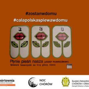 #calapolskaspiewawdomu – zapraszamy do akcji!
