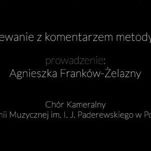 Warsztaty z Agnieszką Franków-Żelazny – rozśpiewanie (WIDEO)