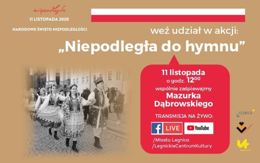 Zapraszamy na wielkie śpiewanie Mazurka Dąbrowskiego z Chórem Madrygał