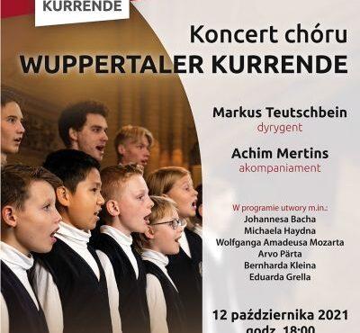 Chór Chłopięcy Wuppertaler Kurrende zaśpiewa w Legnicy